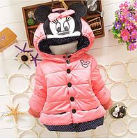 Демисезонная куртка для девочки размер 86.