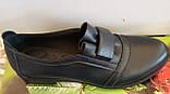 Туфли женские на низком ходу из натуральной кожи от производителя модель ВЛ1291, фото 3