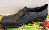 Туфли женские на низком ходу из натуральной кожи от производителя модель ВЛ1291, фото 2