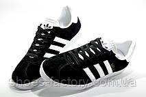Кроссовки унисекс в стиле Adidas Gazelle, Черные с белым, фото 2