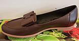 Туфли женские на низком ходу из натуральной кожи от производителя модель ВЛ1292, фото 2