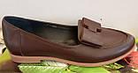 Туфли женские на низком ходу из натуральной кожи от производителя модель ВЛ1292, фото 4