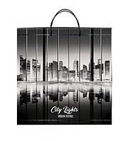 """Пакет з пластиковою ручкою 40х45 10шт. """"City Lights"""""""