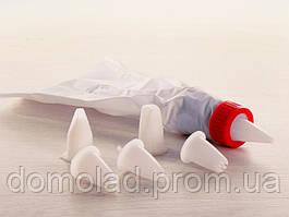 Кондитерский Мешок с 6 Насадками на Блистере в Упаковке 5 шт