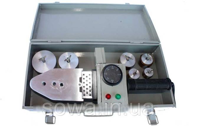 ✔️ Паяльник для пластиковых труб Euro Craft B102 _ 2000 Вт _ Аппарат для сварки труб пвх, фото 2