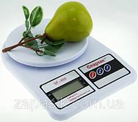 Кухонные Электронные Весы SF 400 от 0,01 до 10 кг + Батарейки, фото 1