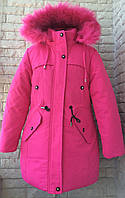 Куртка зимняя на девочку 8-12 лет, фото 1