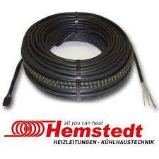 Тонкий нагрівальний кабель двожильний Hemstedt DR