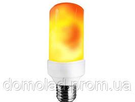 Лампа LED Flame Bulb А+ С Эффектом Пламени Огня
