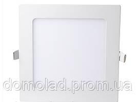 Лампа Даунлайт СД 12W 4100K Квадрат 5шт в Упаковке