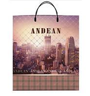 """Пакет з пластиковою ручкою 40х45 10шт. """"Andean"""""""