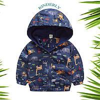 Детская курточка, ветровка для мальчика 2-3 года (рост 98)