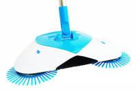 Механическая Щетка Веник для Уборки Spin Broom Ручная Подметающая Машина, фото 1
