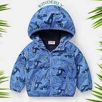 Детская курточка, ветровка для мальчика 1,5-2 года (рост 92)