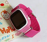 Детские умные смарт часы с GPS Smart Baby Watch Q90-PLUS. Розовые, фото 6