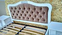 Двухспальная кровать София из масива ясеня