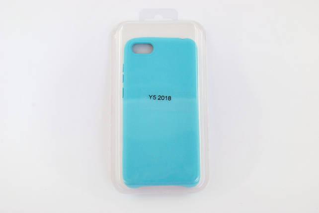 Чехол Xiaomi Redmi 6 Silicone Full Cover Soft touch light blue, фото 2