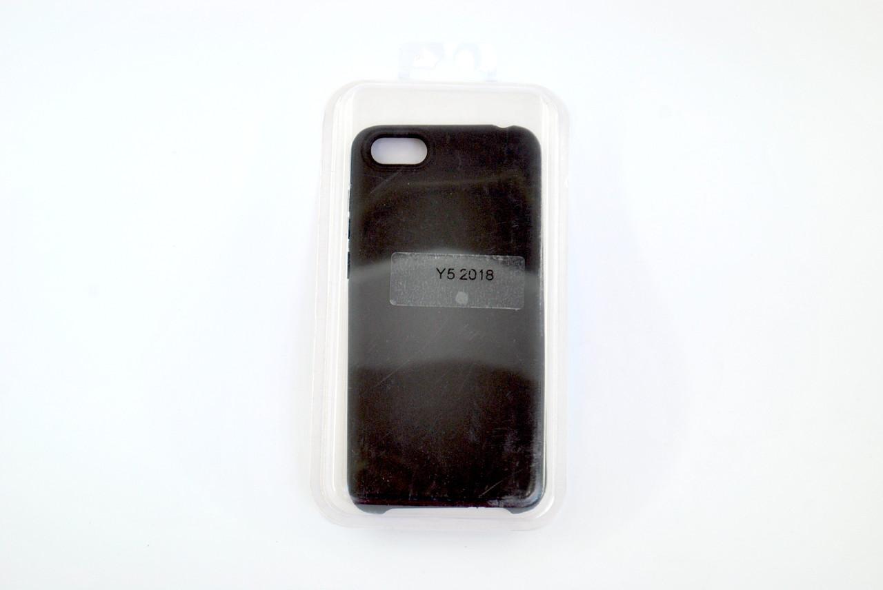 Чехол Xiaomi Redmi 6 Silicone Full Cover Soft touch black