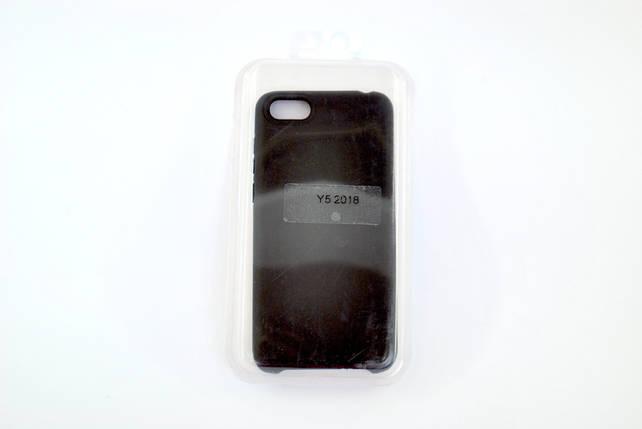 Чехол Xiaomi Redmi 6 Silicone Full Cover Soft touch black, фото 2