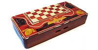 Набор 3 в 1 Шахматы Шашки Нарды W 5001 E, фото 1