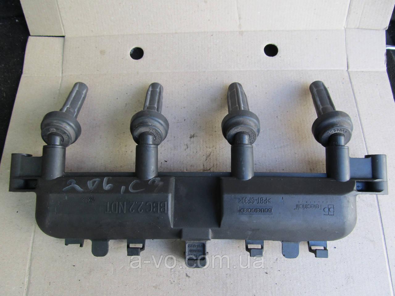 Катушка зажигания Citroen Berlingo Saxo Xsara Picasso Peugeot 106 206 306 406 Partner 1 2, 9628158580, 1543010