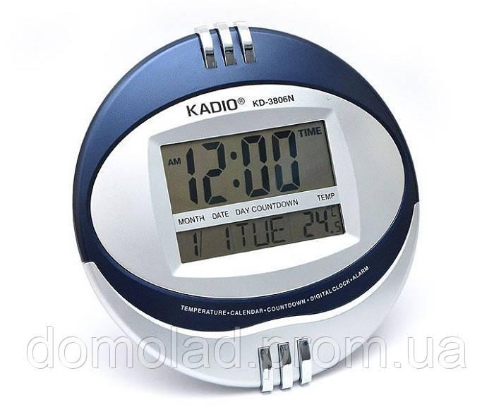 Настольные Цифровые Электронные Часы Kadio KD-3806N