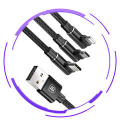 2в1, 3в1 USB кабели