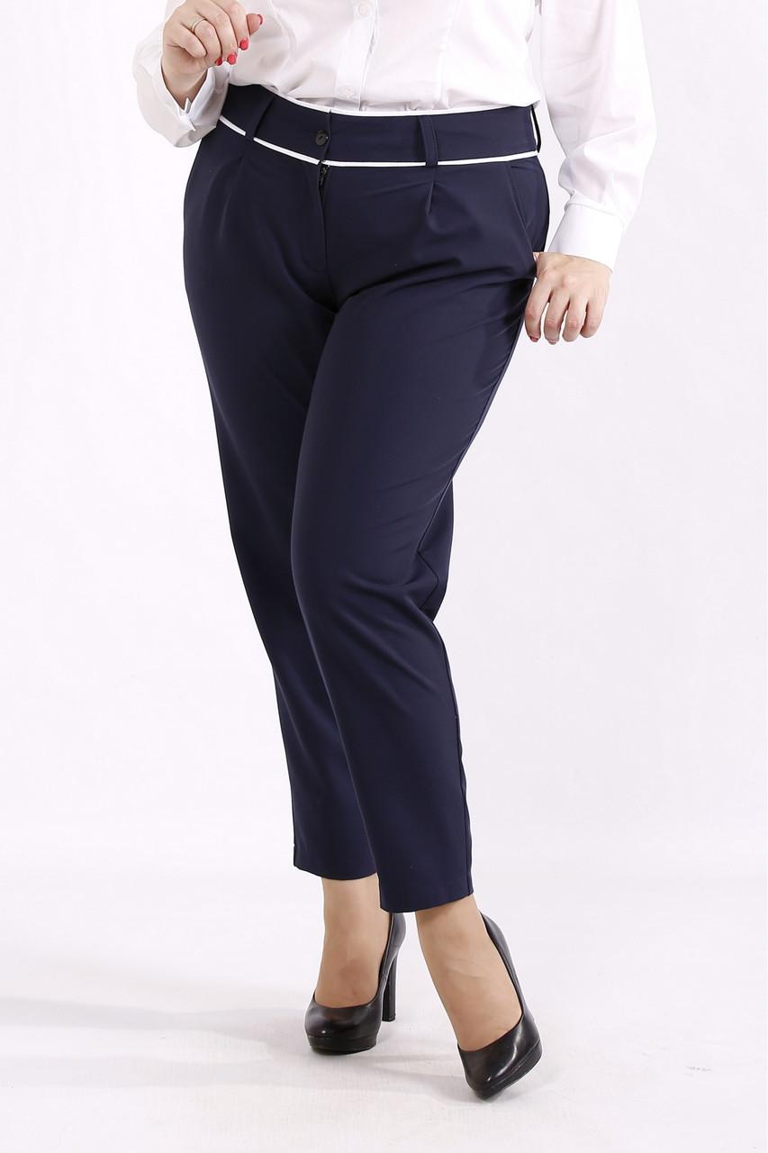 Сині практичні штани великий розмір 42-74. b064-2