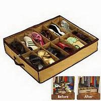 Органайзер для Хранения Обуви Shoes Under на 4 отсека, фото 1