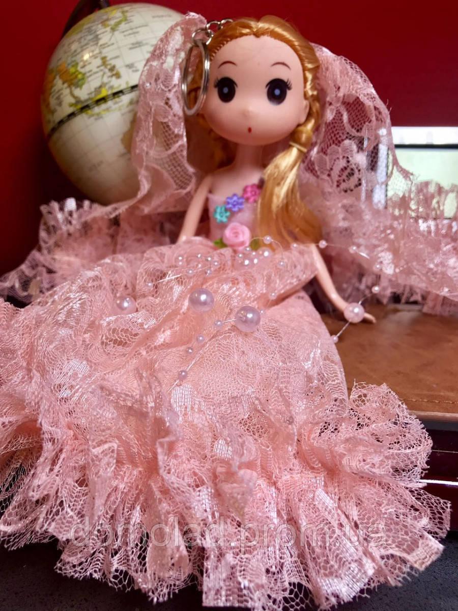 Оригинальный Сувенир Кукла Лол В Свадебном Платье Брелок Кукла