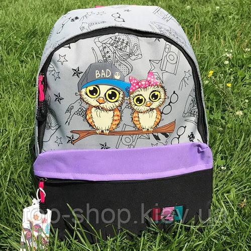 Рюкзак шкільний Jiaze з совами