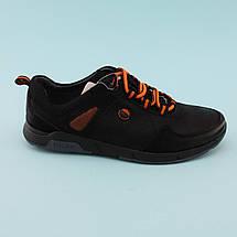 Туфлі на хлопчика з шнурками Чорні тм Тому.М розмір 35,36, фото 2