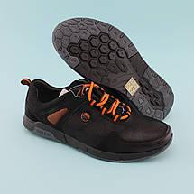 Туфлі на хлопчика з шнурками Чорні тм Тому.М розмір 35,36, фото 3