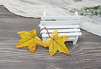 Осенний листочек  двойной 1 шт