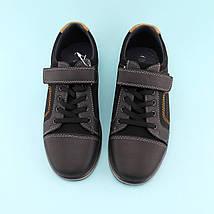 Туфли для мальчика Черные тм Том.М размер 34,35,36, фото 3