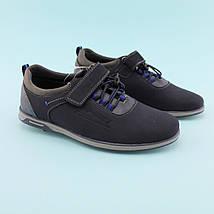 Синие Туфли для мальчика тм Том.М размер 35,36,37,38, фото 3