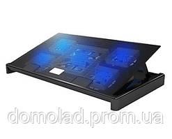 Подставка Охлаждающая Под Ноутбук Notebook Idea Cooling M8 Кулер С 5 Вентиляторами