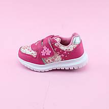 Розовые Кроссовки девочке тм Том.М размер 21,22,23,24,25,26, фото 2