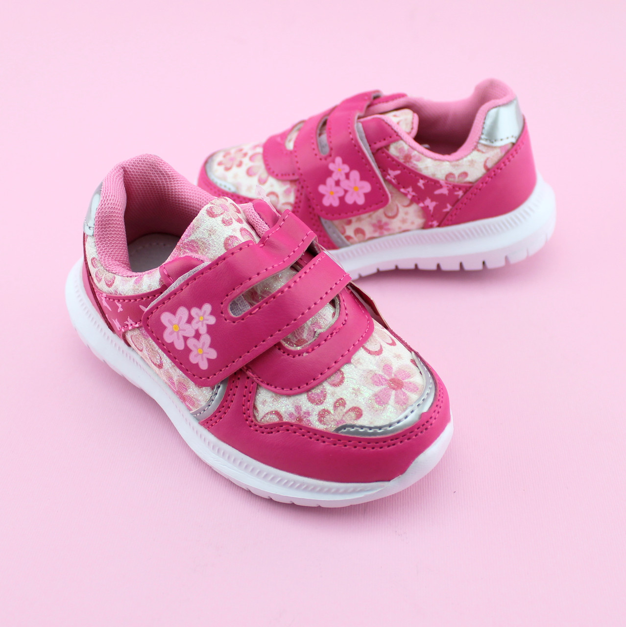 Розовые Кроссовки девочке тм Том.М размер 21,22,23,24,25,26
