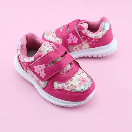 Розовые Кроссовки девочке тм Том.М размер 21,22,23,24,26, фото 2