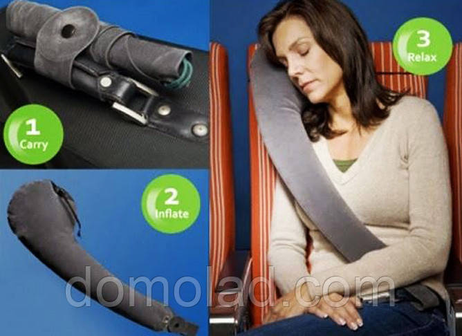 Подушка для Путешествий Travel Pillow Тревел Рест