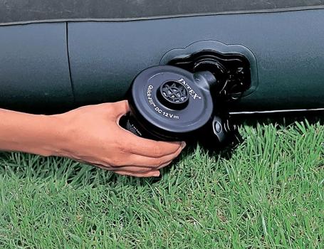 Электрический насос Intex (66626) 12Вт., автомобильный, фото 2