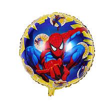 Человек паук шар фольга 45 см.