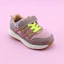 Кроссовки для девочки цвета Пудра тм Том.М размер 21,22, фото 3