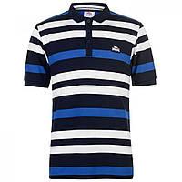 Поло Lonsdale Stripe Navy/White/Blue - Оригинал, фото 1