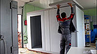 Монтаж холодильной камеры любой сложности