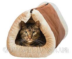 Домик для Кота Мягкий Лежанка Kitty Shack Tunnel Bed & Mat 2 в 1