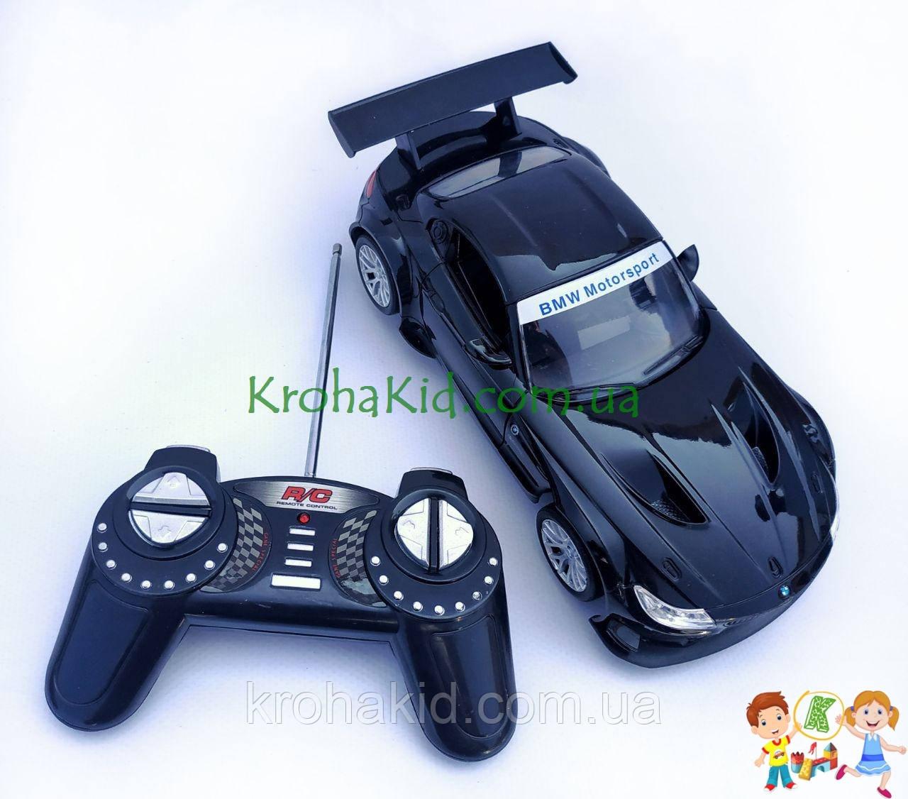 Машина BMW Z4 GT3 на радиоуправлении 866-1812B аккумулятор 4.8V (черный)