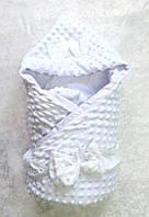 Конверт - одеялко, р. 85*85 (белый)