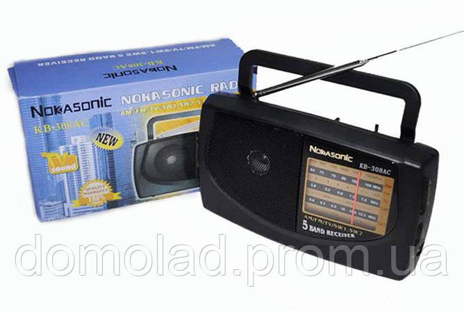 Радиоприемник Nokasonic KB 308 AC Радио am